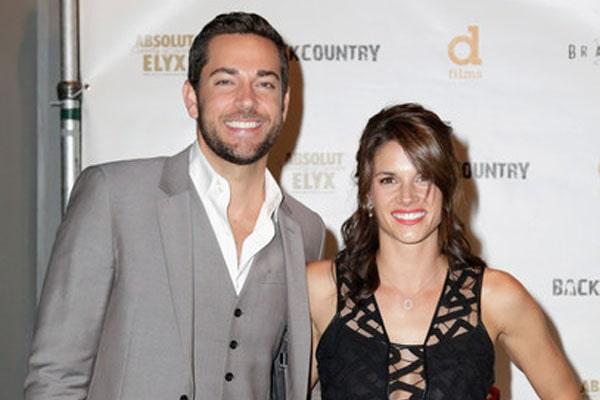 Zachary Levi and Missy Peregrym's marriage