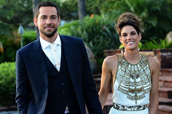 Zachary Levi and Missy Peregrym marriage
