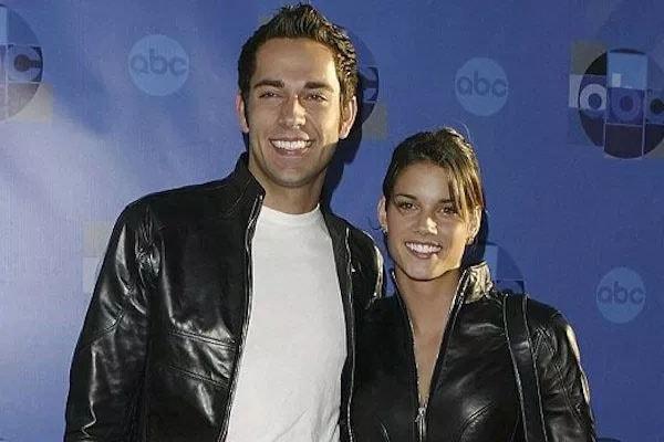 Zachary Levi and his ex-wife Missy Peregrym