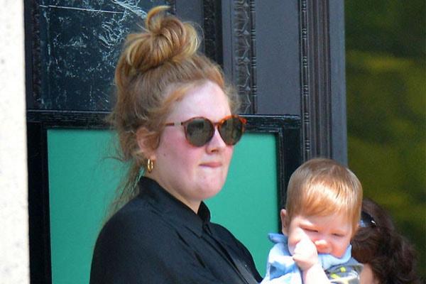 Adele's son Angelo Adkins
