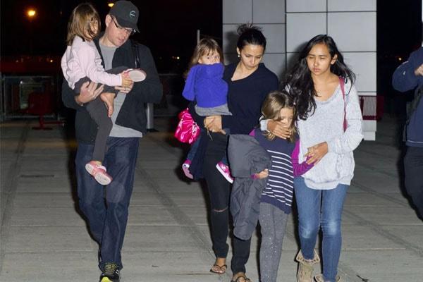 Matt Damon's family