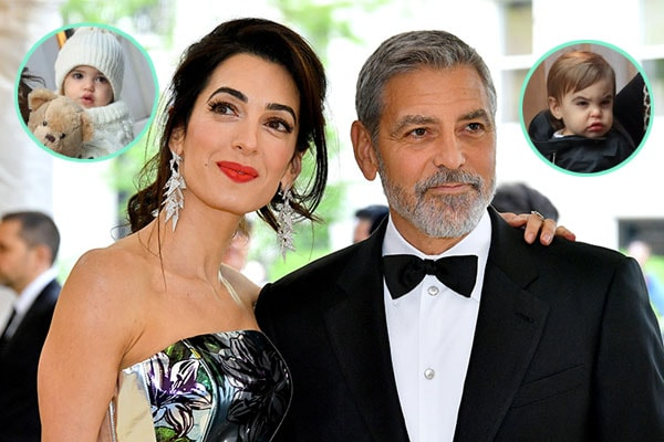 Ella Clooney and Alexander Clooney are George Clooney's twins.