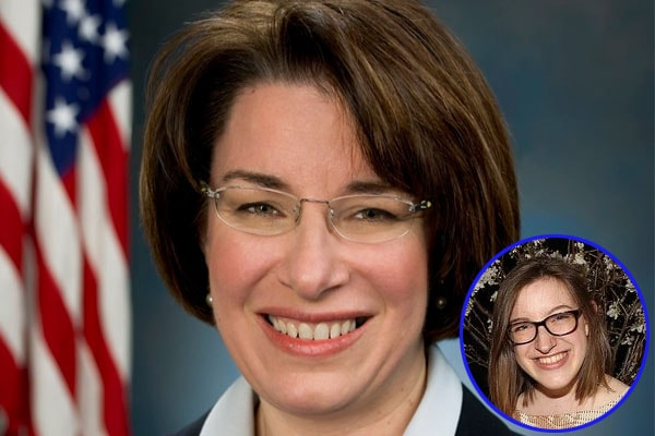 Abigail Klobuchar, Amy Klobuchar's daughter