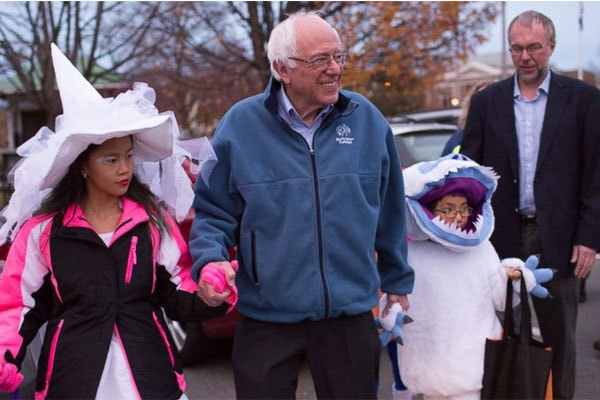 Bernie Sanders like celebrating festivals together.