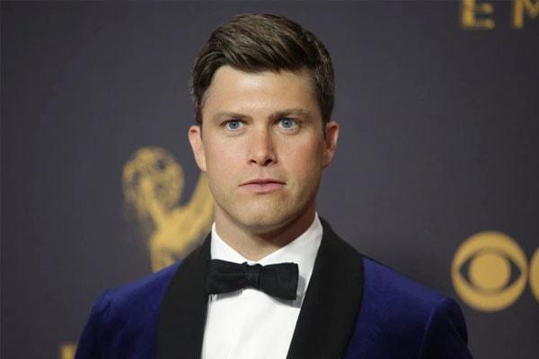 Scarlett Johansson's boyfriend Colin Jost.