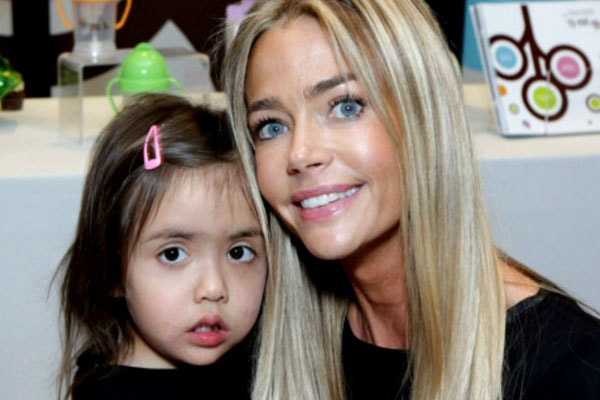 Denis Richard and her adopted daughter Eloise Joni Richard