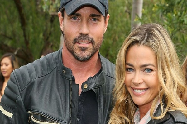 Denise Richards and her husband Aaron Phypers