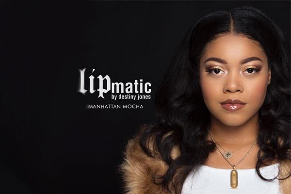 Rapper Nas's daughter Destiny Jones.