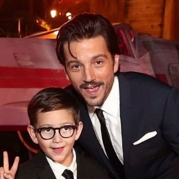 Meet Jerónimo Luna – Photos Of Diego Luna's Son With Ex-Wife Camila Sodi