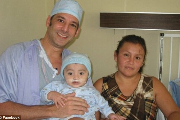 Dr.Howard Krein with his patient