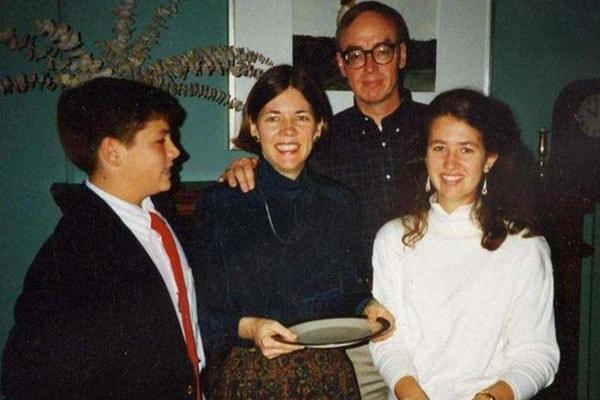 Elizabeth Warren with the family
