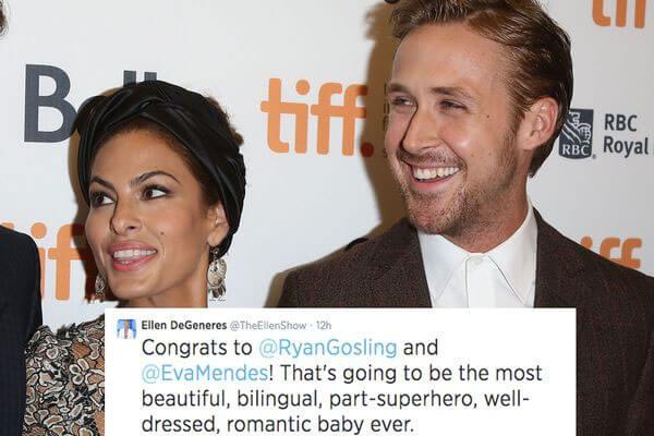 Eva Mendes and Ryan Gosling's baby daughter