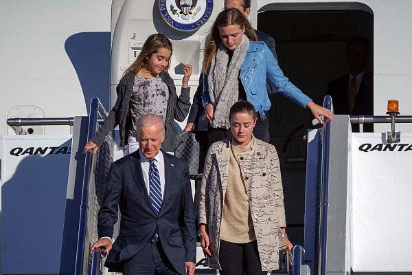 Finnegan Biden and Joe Biden