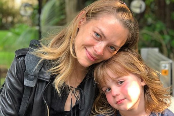 Jaime King with son Jack