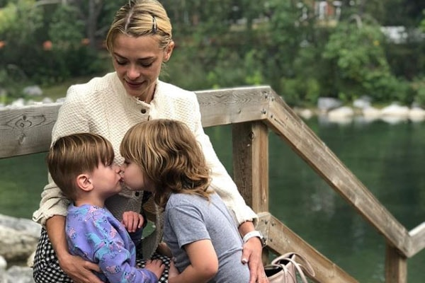 Jaime King's sons James Knight Newman and Leo Thames Newman