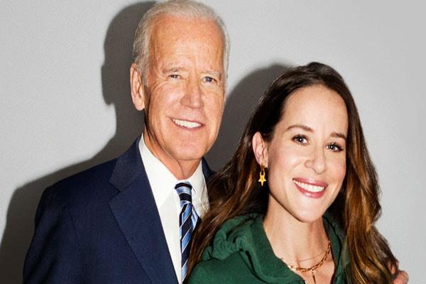 Joe Biden and his daughter Ashley Biden