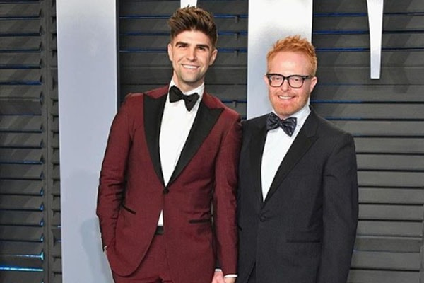 Justin Mikita and husband Jesse Tyler Ferguson