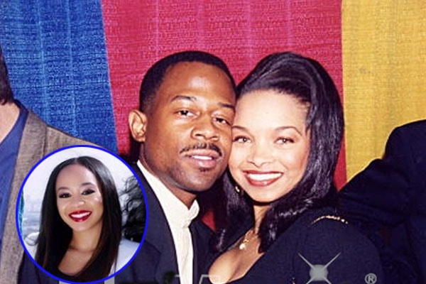 Martin Lawrence with his ex-wife Patricia Southall with daughter Jasmine Page Lawrence