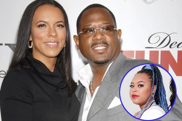 Martin Lawrence with his ex-wife Shamicka Gibbs and their daughter Amara Trinity lawrence