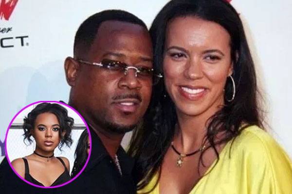 Martin Lawrence's daughter Iyanna Faith Lawrence with her mother Shamicka Gibbs