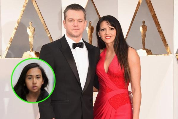 Matt Damon's daughter Alexia Barroso