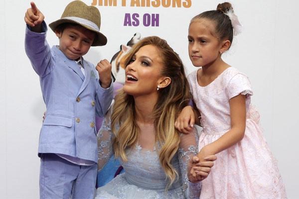 Jennifer Lopez's son Maximilian David Muñiz.
