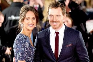 Michael Fassbender's wife is Alicia Vikander.