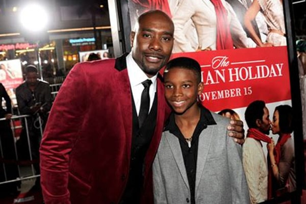 Grant Chestnut and his father Morris Chestnut.