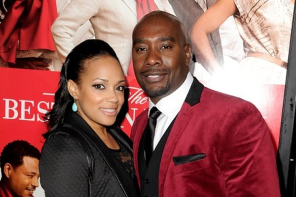 Morris Chestnut and his wife Pam Byse
