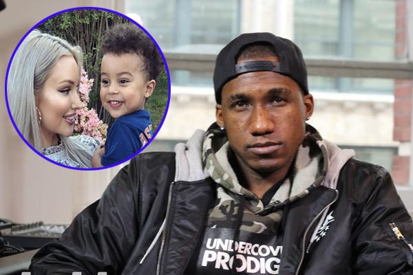 Rapper Hopsin with his ex-wife Alyce Madden with their son Zade Ryker Lee