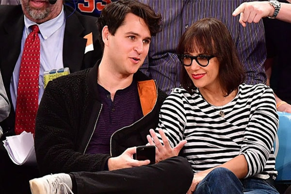 Rashida Jones with her boyfriend Ezra Koenig