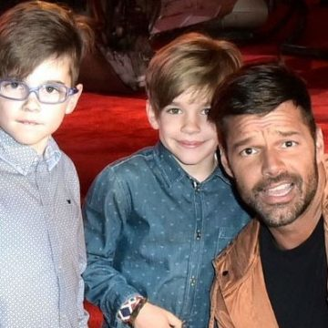 Meet Matteo Martin And Valentino Martin – Photos Of Ricky Martin's Twin Sons