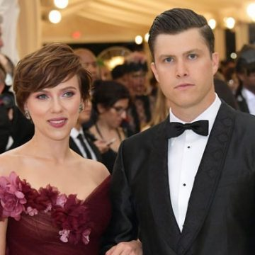 After Marrying Twice Actress Scarlett Johansson Has A Comedian Boyfriend