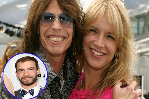 Steven Tyler and his ex-wife Teresa Barrick with son Taj Monroe Tallarico