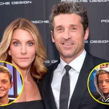 Meet Sullivan Patrick and Darby Galen Dempsey- Photos Of Patrick Dempsey's Twin Children With Wife Jillian Fink