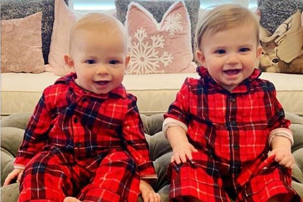 Joe Buck's twin children