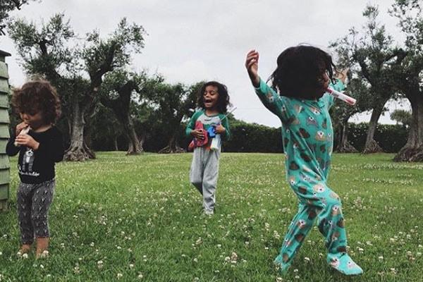 Zoe Saldana's children