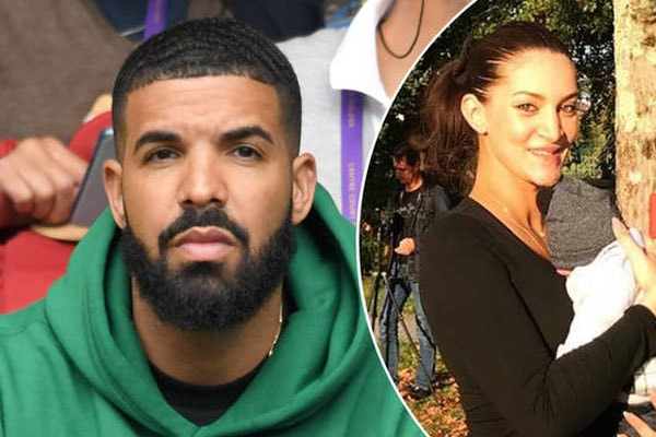 Rapper Drake's son with girlfriend