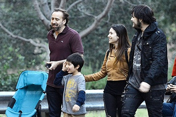 Kal-El Coppola with family