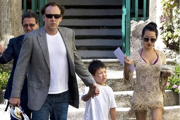 Kal-El Coppola Cage, Nicolas Cage, Alice Kim