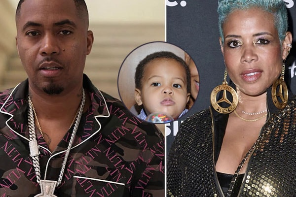 Knight Jones and parents Nas and Kelis