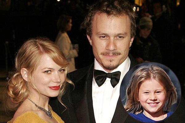 Matilda Ledger's parents, Heath Ledger and Michelle Williams