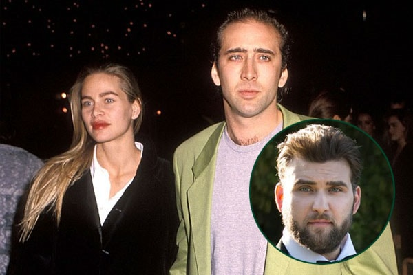 Nicolas Cage and ex-girlfriend Christina