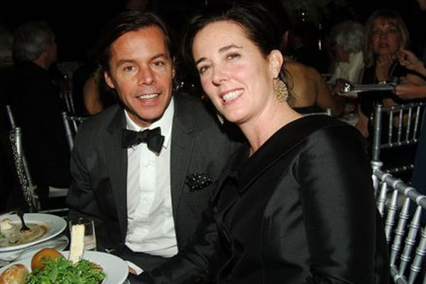 Andy Spade and his late wife Kate Spade.