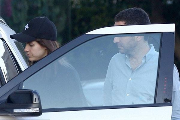 Ari Melber and his girlfriend Alexandra Daddario