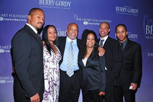 Hazel Gordy family