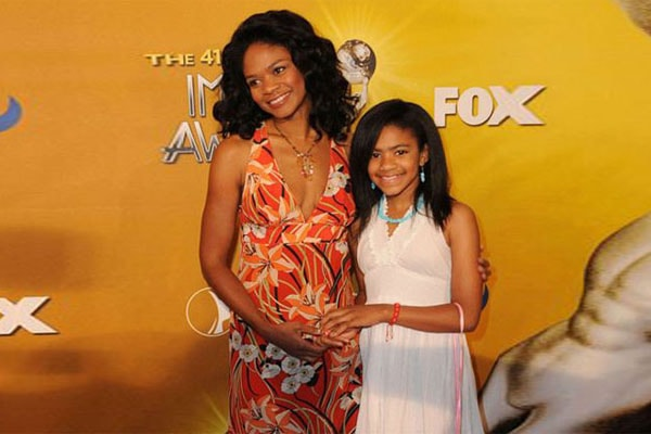 Kimberly Elise with her daughter, Butterfly Rose Oldham
