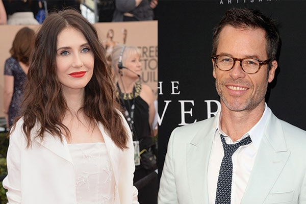 Carice Van Houten and her husband Guy Pearce