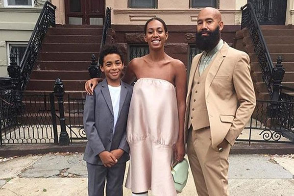 Daniel Julez Smith Jr. Solange Knowles' son