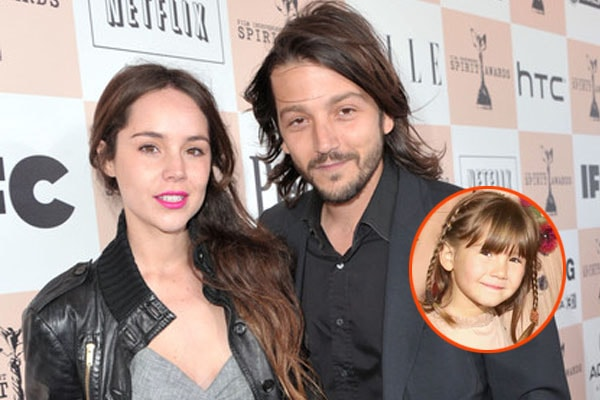 Diego Luna's daughter Fiona Luna with family